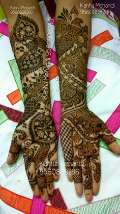 Bridal Mehndi Designs, Henna Designs, Tattoo Designs, Mehndi Desighn, Mehndi Images, Henna Patterns, Mehendi, Body Art, Hands
