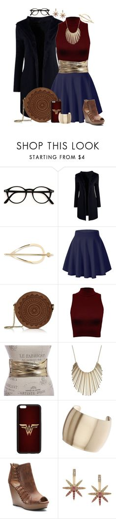 """""""I Will Fight"""" by leighanned ❤ liked on Polyvore featuring Elizabeth and James, WearAll, Jennifer Lopez, Topshop, SO, ABS by Allen Schwartz, Superhero, wonderwoman, superheroine and DianaPrince"""