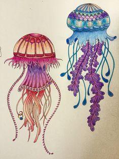 Jellyfish: Lost Ocean by Johanna Basford