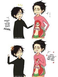 Alec & Magnus by baneme