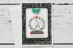 Bella Blvd IF CHRISTmas collection. Celebrate Together card by creative team member Stephanie Buice.