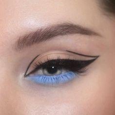 ✔ Makeup Tutorial Eyeliner Make Up Makeup Eye Looks, Eye Makeup Art, Eye Makeup Remover, Cute Makeup, Pretty Makeup, Skin Makeup, Eyeshadow Makeup, Maybelline Eyeshadow, Colourpop Cosmetics