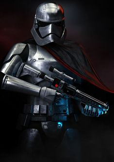 Captain Phasma by Rick Walker - I like this one because it's not sexualized like most Phasma fan art.