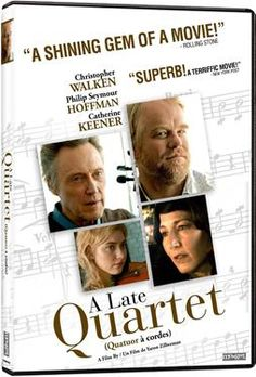 A late quartet DVD - I would like to see this.