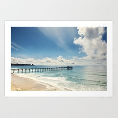 In The Moment Art Print by kimbythesea Blue Song, Blues Artists, Blue Gift, Blues Rock, La Jolla, History Facts, San Diego, Surfing, Gallery Wall