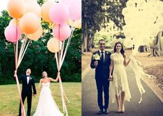 balões de ar p/ mini wedding