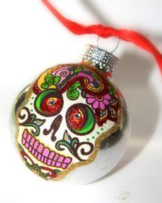 Want: Sugar Skull Ornament