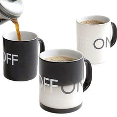 Оriginal Mug changing the color of the ON-OFF