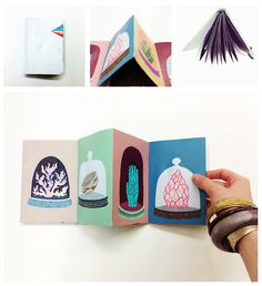 Collecting by MARINA MUUN, via Behance