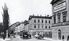 Harrach Garten Palais Vienna, Alter, Street View, Black And White, History, Historia, Black N White, Black White