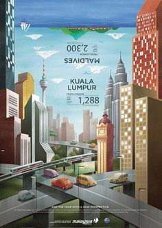Malaysia Airline Year End Sale by JamieToh, via Behance