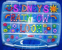 rainbow loom case