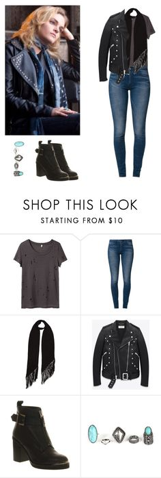 """Miranda Cates - Hemlock Grove"" by shadyannon ❤ liked on Polyvore featuring R13, Levi's, Rockins, Yves Saint Laurent and Office"