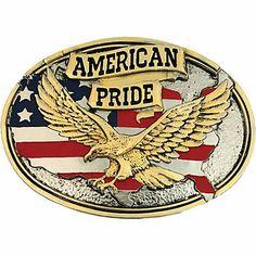 Boucles de ceinture western motif Buckle American pride