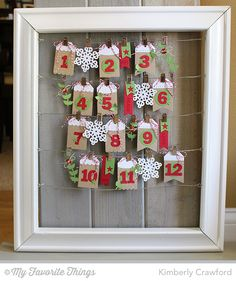 MFT Release Countdown and a Christmas Countdown Calendar
