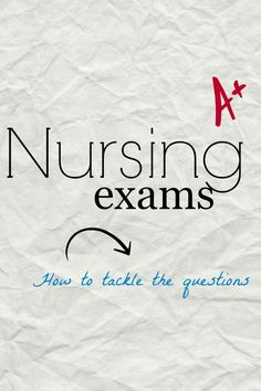 Tips and tricks to study for nursing exams and the NCLEX, Best books to study for nursing exams, Nursing school tests, How to pass nursing school http://www.meddybear.net/