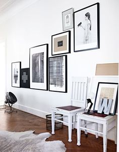 Art placement on walls gallery wall a creative home decor inspiration a wall art a eclectic Inspiration Wand, Interior Inspiration, Gallery Wall Layout, Gallery Walls, Art Gallery, Interior And Exterior, Interior Design, Interior Paint, Piece A Vivre