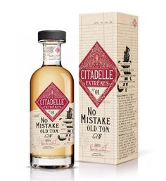 Citadelle Extremes No Mistake Old Tom Gin