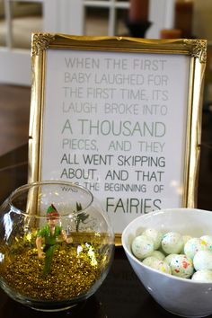 Peter Pan Quote--Cute for baby shower  When Cadence was born I stenciled this as a border all the way around her room!