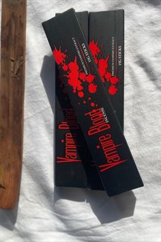Vampire Blood - Incense Sticks Hand Rolled in India Net Weight 15g Free Postage to any address in Australia on orders over $100. Hand Roll, Incense Sticks, Blood