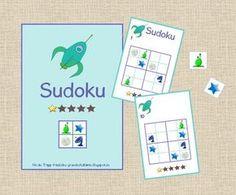 Morgen geht es in der Mathechecker-AG los mit Sudokus. Wir fangen aber erst einmal ganz leicht an mit 4x4-Feldern ;-) Die Legeplättchen wer...