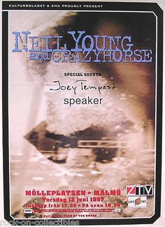 Neil Young & Crazy Horse 1997 Sweden Concert Promo Poster Original  Link to Store: http://stores.ebay.com/Rock-On-Collectibles/Classic-Rock-Posters-/_i.html?_fsub=6869210&_sid=70220124&_trksid=p4634.c0.m322