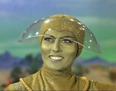 The Green Lady, from Lost in Space - HOT