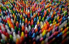 Genius - Crayon art ( a bit more complex than primary school)