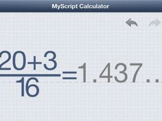 A FREE math calculator app that solves the problems you WRITE on the screen MyScript Calculator Review - Software - CNET Reviews www.evilmathwizard.com