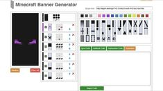 Minecraft Banners Recipe I made Minecraft Food, Minecraft Video Games, Minecraft Projects, Minecraft Furniture, Minecraft Stuff, Minecraft Ideas, Minecraft Recipes, Minecraft Bedroom, Minecraft Banner Designs