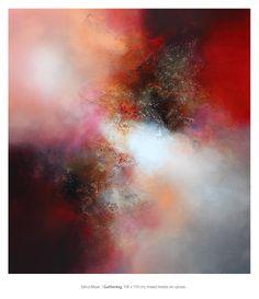 Eelco Maan I Gathering, 110 x 100 cm, mixed media on canvas. Available at Studio Eelco Maan / ejmaan@xs4all.nl