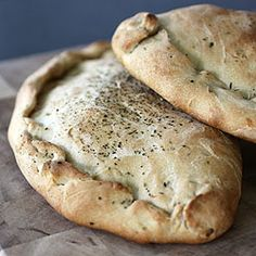 Stock your freezer with these homemade chicken pesto calzones!