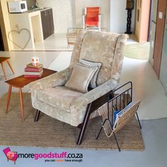 Midcentury arm chair ~ www.moregoodstuff.co.za ~ mail: info@moregoodstuff.co.za