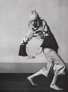 Lucia Joyce by Berenice Abbott, Paris, 1926-27.