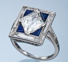 Deco Engagement Ring, Engagement Ring Styles, Diamond Engagement Rings, Diamond Rings, Mom Jewelry, Art Deco Jewelry, Fine Jewelry, Jewellery Box, Jewlery
