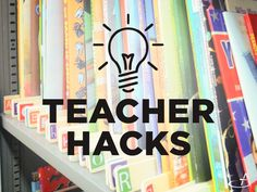 A good organization system is a key element to effective classroom management. Keeping clutter at bay helps students focus. Try these genius tips and tricks to add more order to your classroom. Click the numbered tip for additional information.  1. Organize Books With Paint Stirrers  Write each letter of the alphabet on a separate paint