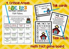 Debbie Diller style Math Stations for each month of the school year.  Easy to put together, fabulous activities, organization for your classroom.  1st, 2nd and 3rd grade available!!