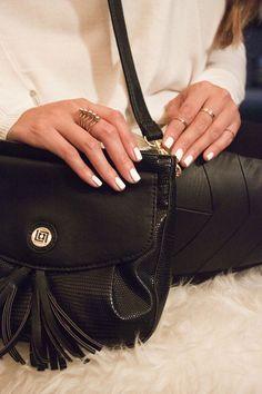 I love the classic look of my Liz Claiborne chelsea crossbody bag!