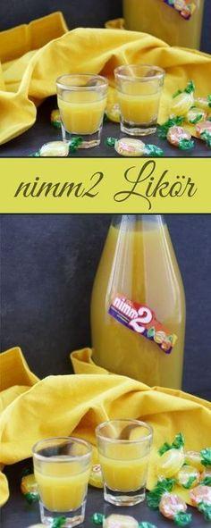 Leckerer Nimm 2 Likör mit Wodka und Orangensaft - schnell und einfach zu machen. #nimm2 #likör