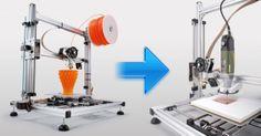 Trasforma la tua stampante 3D in una fresa CNC per creare circuiti