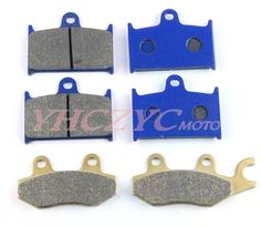 38.00$  Buy now - http://ali81a.shopchina.info/1/go.php?t=32809140149 - For TRIUMPH Speed Triple(carb models) 94-97 motorcycle front and rear brake pads set  #shopstyle