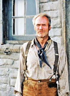 Clint Eastwood in Unforgiven, 1992.