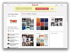 An article from TNW (The Next Web) on Pinterest as a marketing tool. Curious to get your reactions. Are we Pinteresters being used?