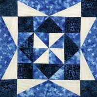 Free Block Pattern: Ooh-Rah Block 9 | Ooh-Rah | Quilters Newsletter