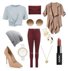"""Fall Time!"" by absolutely-mia on Polyvore featuring T By Alexander Wang, WearAll, The North Face, Lipsy, Rebecca Minkoff, Victoria Beckham, BP., River Island and Michael Kors"
