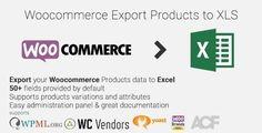 https://www.wordpresssoft.com/product/woocommerce-export-products-xls-plugin/