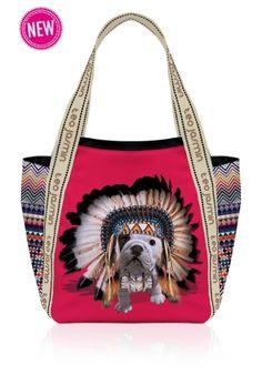 Sac cabas Teo Apache Rouge - Teo jasmin