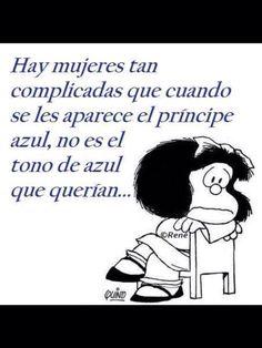 Principe azul - Mafalda