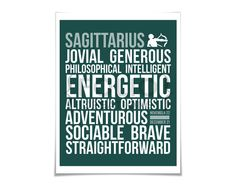 Sagittarius Personality Character Traits Subway by FolioCreations