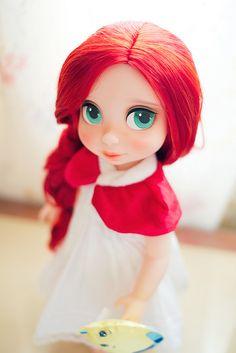 """Милашки-мультяшки, ну почему же вы в реале здоровенные и дубовые??? Т_Т [изображение] Disney Animators' Collection Doll 16"""" by :Poki, on Flickr [изображение] Disney Animators' ... — Логово Древнего"""
